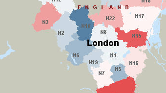London England Postcodes