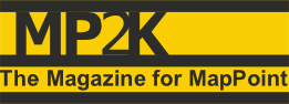 MP2K Magazine, The Magazine for Mappoint