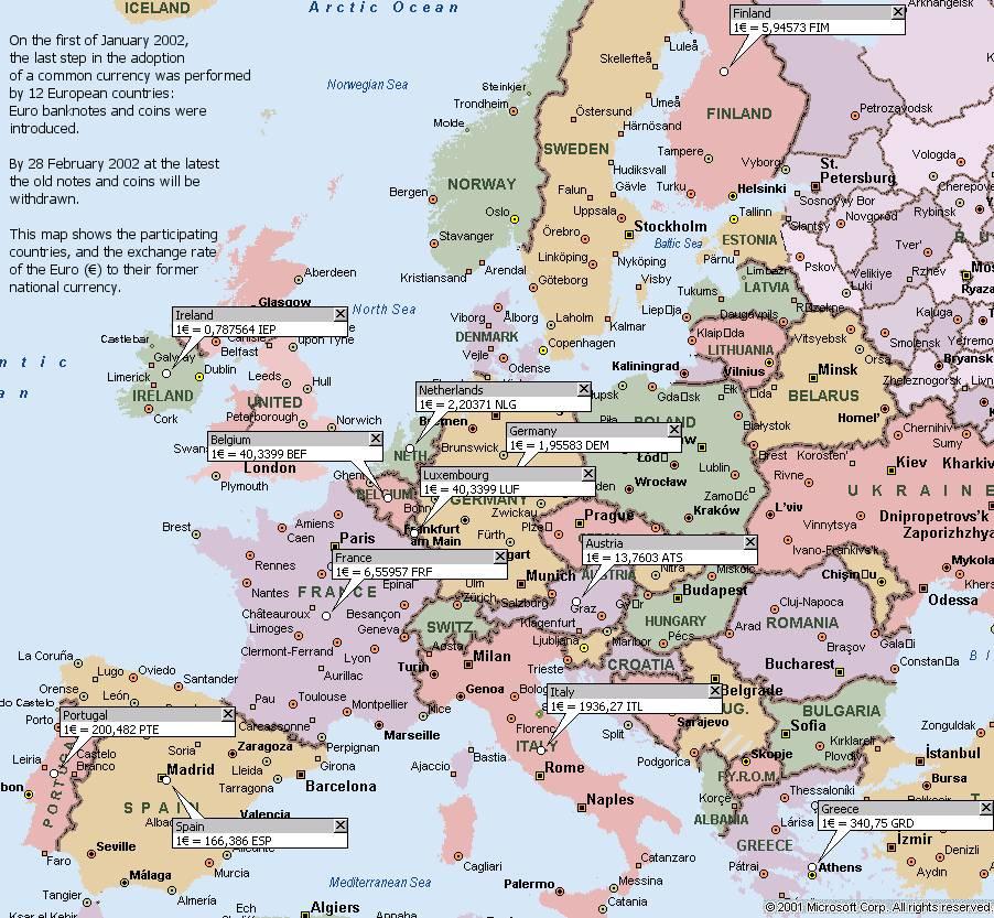 Euro 2008 в google maps за футболните и web 2 0