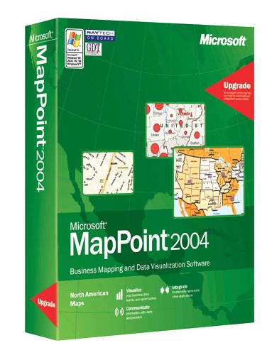 MapPoint 2004 Upgrade