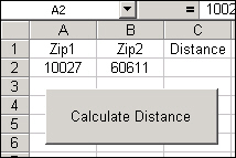 MapPoint Excel